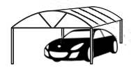 Dome carport Townsville